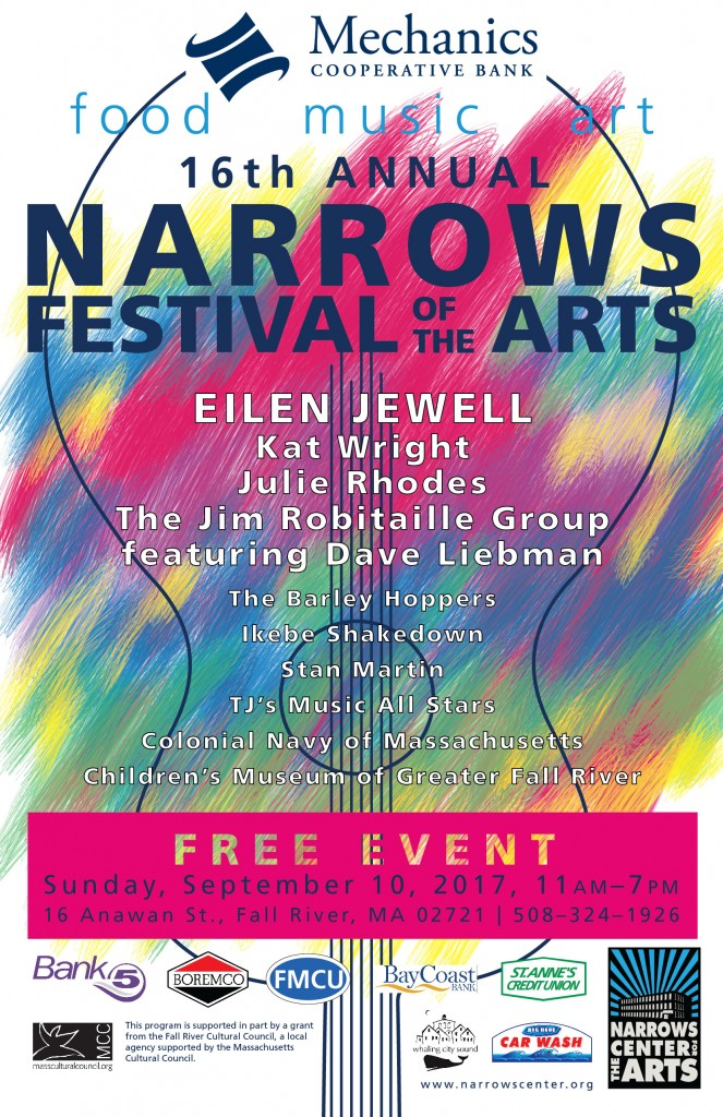 2017 Narrows Festival Poster