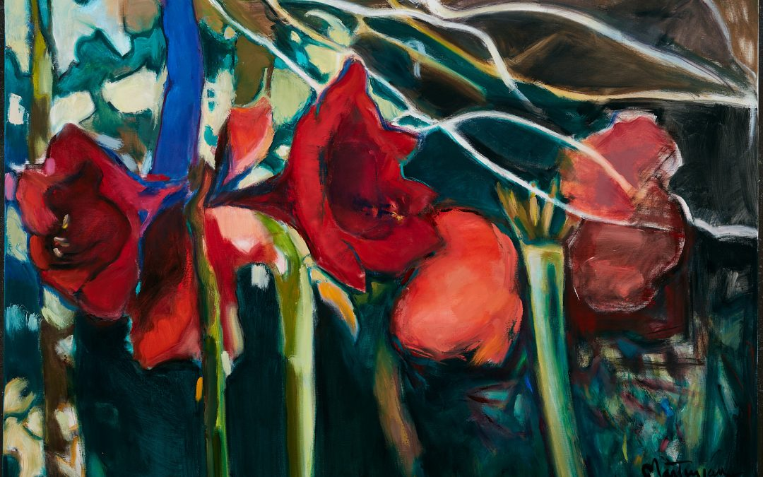 Wild Solace:  Garden Paintings by Paula Martiesian